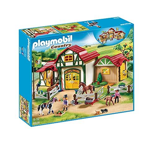 Playmobil- Country Payset, Granja de Caballos, Multicolor (6926)