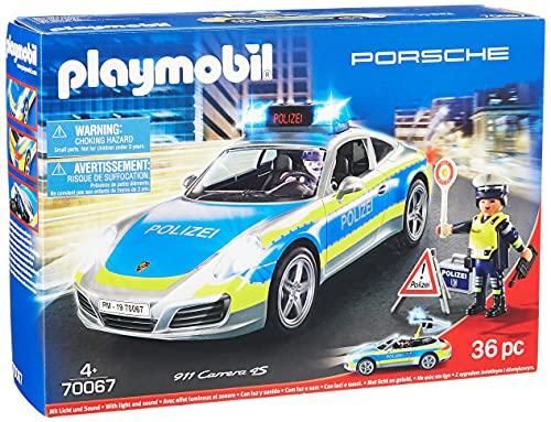 Coche de policía Playmobil City Action 70067 Porsche 911 Carrera...