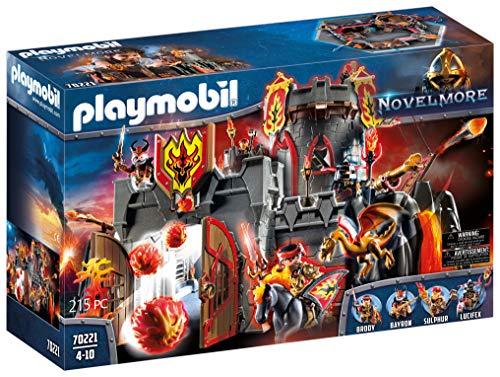PLAYMOBIL Novelmore Fortaleza de los Bandidos de Burnham, Para...