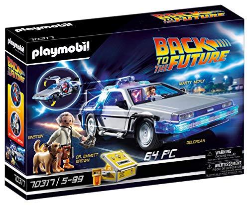 PLAYMOBIL- Back to The Future Juego con Accesorios, Multicolor...