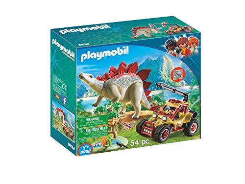 PLAYMOBIL Dinos Vehículo Explorador con Estegosaurio y...