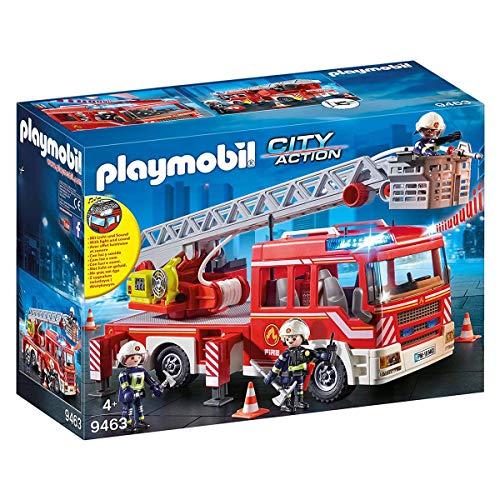 PLAYMOBIL City Action Camión de Bomberos con Escalera, A partir...