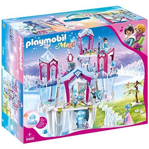 PLAYMOBIL Magic Palacio de Cristal con Cristal Luminoso, Incluye...