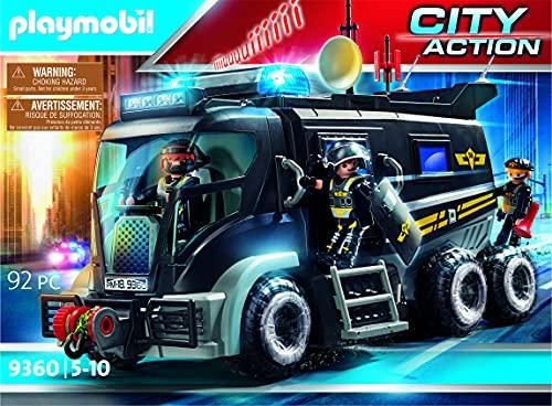 PLAYMOBIL City Action Vehículo con luz LED y Módulo de Sonido,...