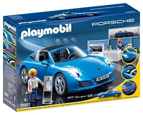 Playmobil Porche- Porsche Réplica del Porche 911 Targa 4S...