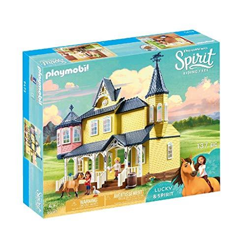 PLAYMOBIL DreamWorks Spirit Casa de Fortu, a Partir de 4 Años...