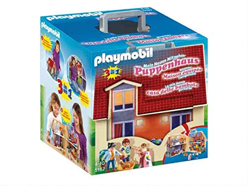 PLAYMOBIL Dollhouse Casa de Muñecas Maletín, A partir de 4...
