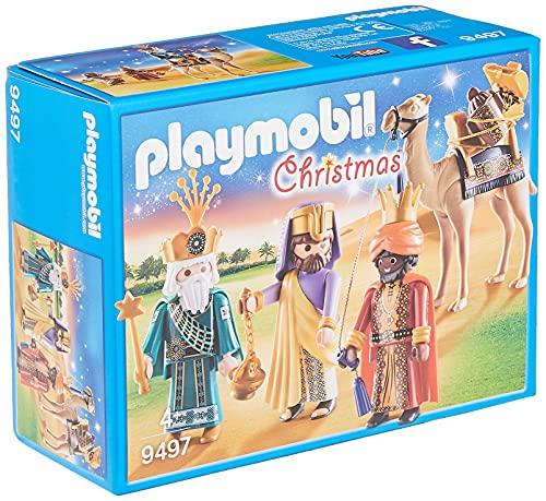 PLAYMOBIL Christmas Reyes Magos, A partir de 4 años (9497)