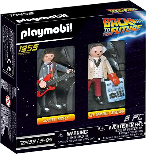 PLAYMOBIL Back to the Future 70459 Marty Mcfly y Dr. Emmett...