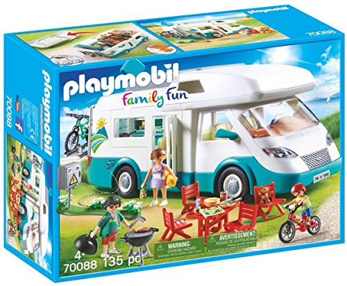 PLAYMOBIL Family Fun Caravana de Verano, A partir de 4 años...