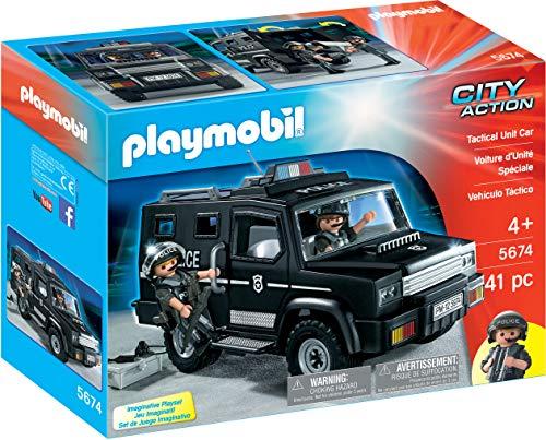 PLAYMOBIL City Action Vehículo Táctico, a Partir de 4 Años...