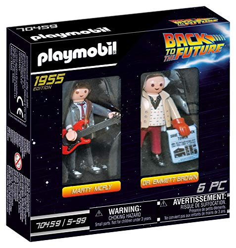 PLAYMOBIL Regreso Dos Figuras Back to The Future Marty Mcfly y...