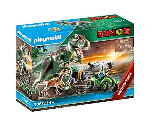 PLAYMOBIL 70632 Ataque del T-Rex, a partir de 4 Años