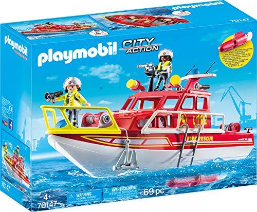 PLAYMOBIL- City Action Figuras y Juegos de contrucción, Color...