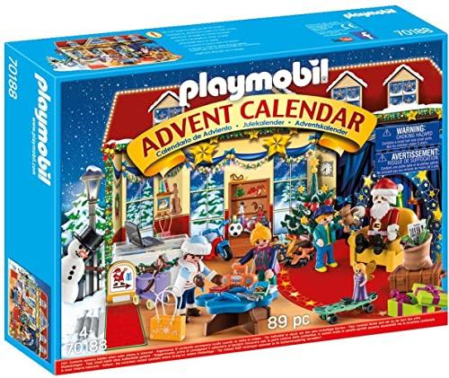 PLAYMOBIL Christmas Calendario de Adviento Navidad en la...