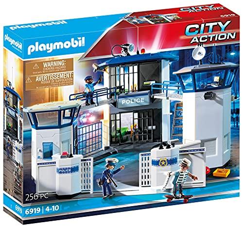 PLAYMOBIL City Action Comisaría de Policía con Prisión, a...