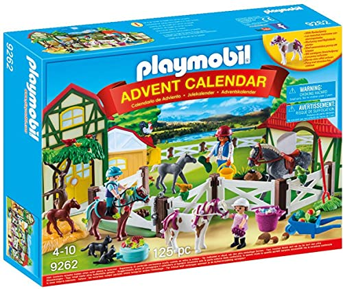 PLAYMOBIL Calendario de Adviento Granja de Caballos, A partir de...