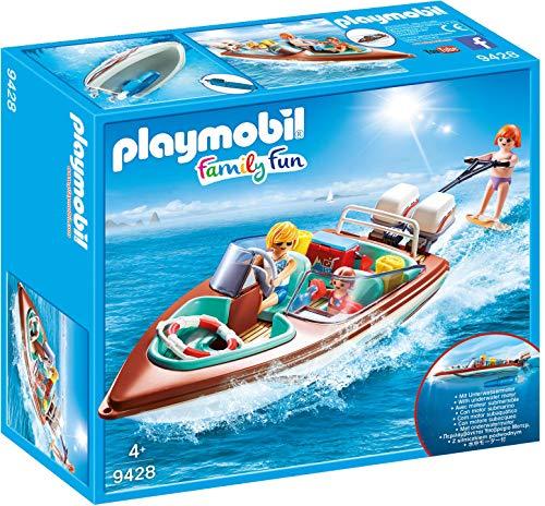 Playmobil- Lancha Motor Submarino Juguete, Multicolor (geobra...