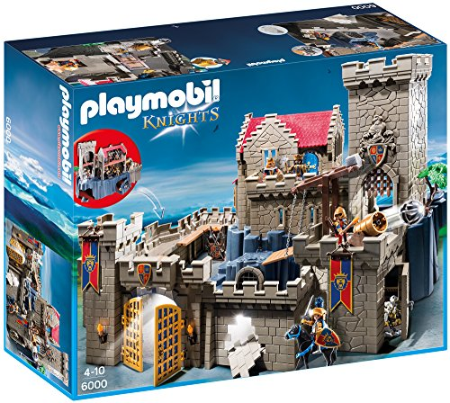 PLAYMOBIL 6000 - Knights - Castillo de los Caballeros del león...