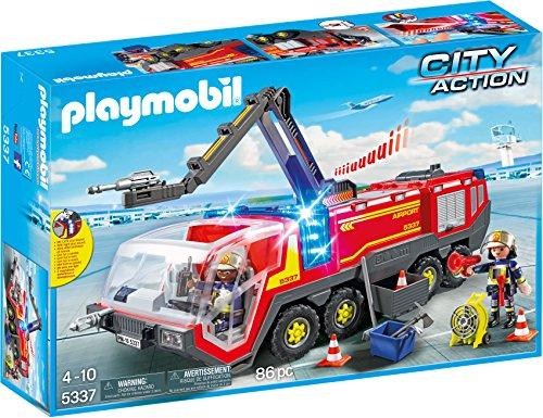 PLAYMOBIL City Action Camión Bomberos Aeropuerto, a Partir de 4...