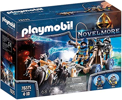 PLAYMOBIL Novelmore Equipo Lobo Novelmore, Para Niños de 5 a 10...