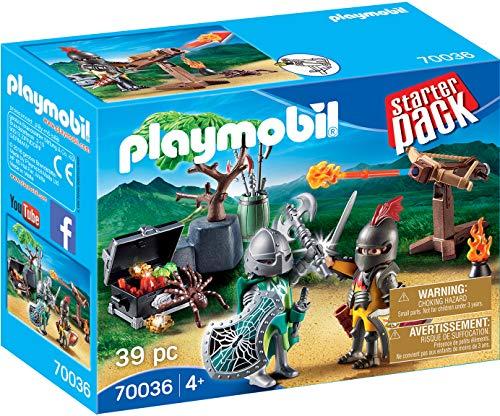 PLAYMOBIL- Starter Pack Starterpack Batalla Medieval, Color...