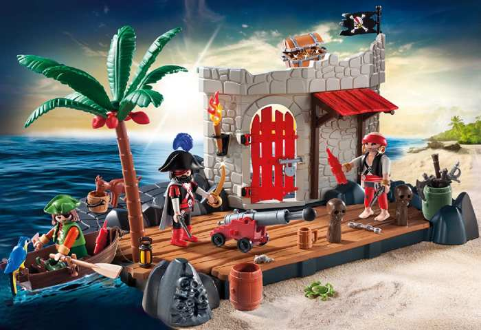 isla pirata playmobil