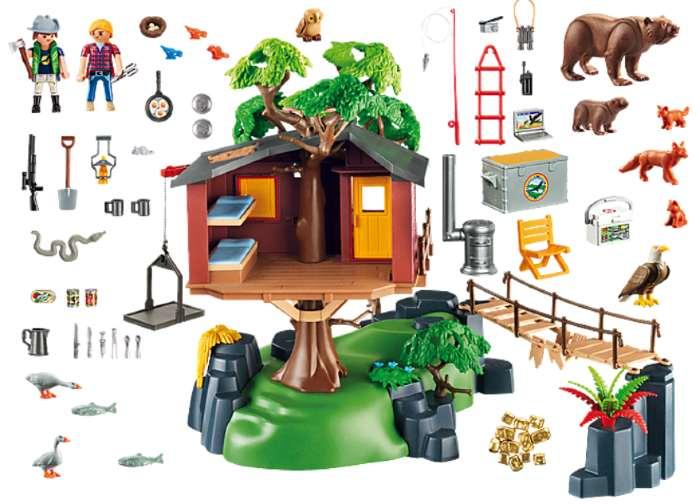 Casa del arbol playmobil