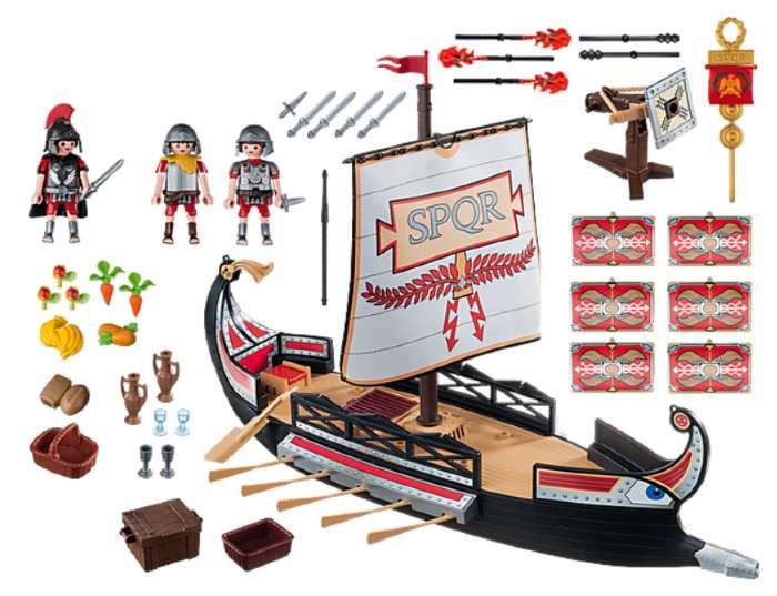 barco romano playmobil