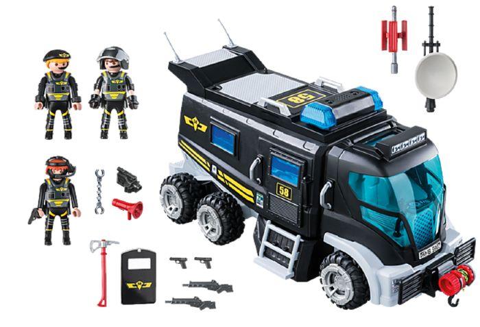 furgon policia playmobil